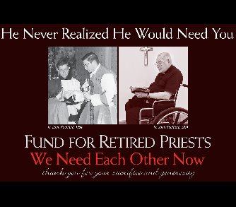 Collection for Retired Priests