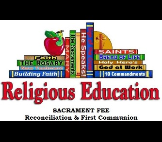 Sacrament Fee - Reconciliation & First Communion
