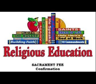 Sacrament Fee - Confirmation