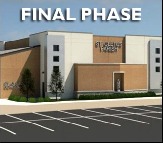 Parish Center Donations-Final Phase