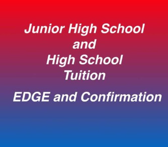 EDGE & Confirmation Tuition