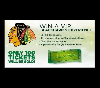 Emerald Ticket Blackhawks Package