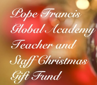 Christmas Gift Fund for Teachers and Staff