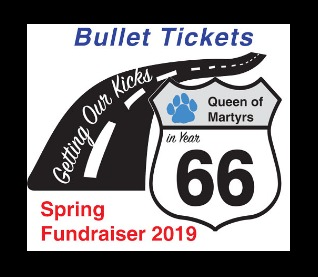 Bullet Raffle Tickets- Book of 6