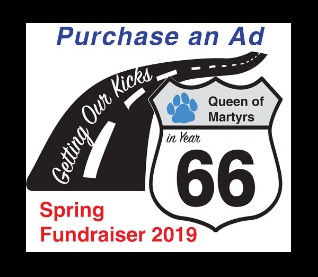 Purchase an Ad - 2019 Spring Fundraiser