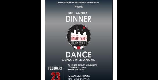 EVENT TICKETS - Dinner Dance