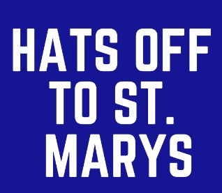 Hats off to St. Mary