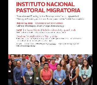 Instituto Pastoral Migratoria - REGISTRATION