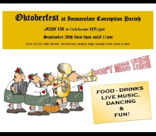 Oktoberfest @ IC Parish!