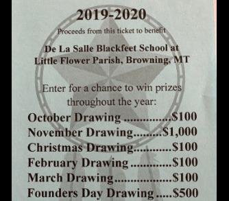 2019-2020 DLSBS Raffle