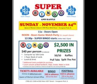Super Bingo/Raffle