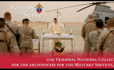Archdiocese of Military Services Second Collection
