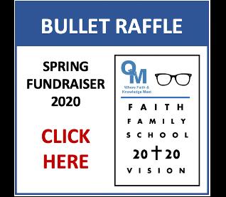 Bullet Raffle Tickets - 2020 Spring Fundraiser