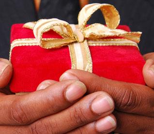 Christmas Gift to Parish - December