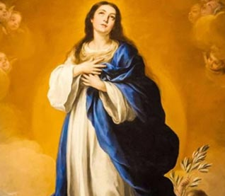 Feast of the Immaculate Conception - December 8, 2020