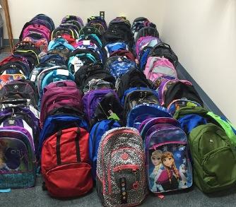 School Supplies for St. Gregory's Parish