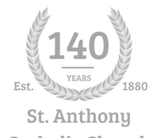 140th Anniversary Vestment Donation